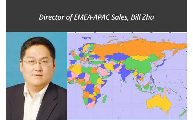 Bill Zhu Promoted To Director Of RGB Spectrum EMEA-APAC Sales
