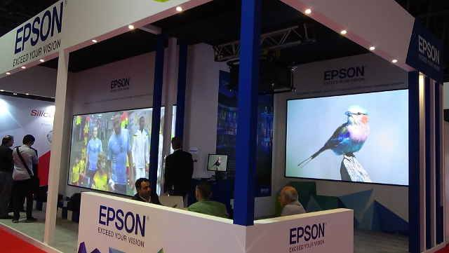 IFMEA: Epson Introduces Laser Projection To MEA