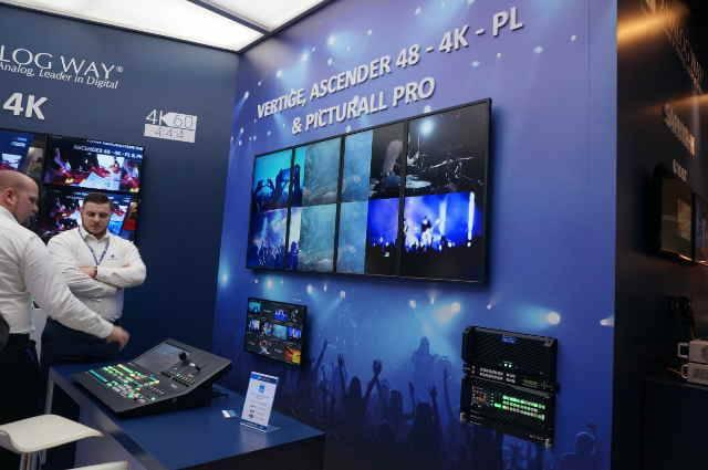 Analog Way Showcases Its Own Range Of Premium Media Servers