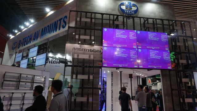 ISE 2018: B-Tech AV Debuts Heavy Duty Projector Mount