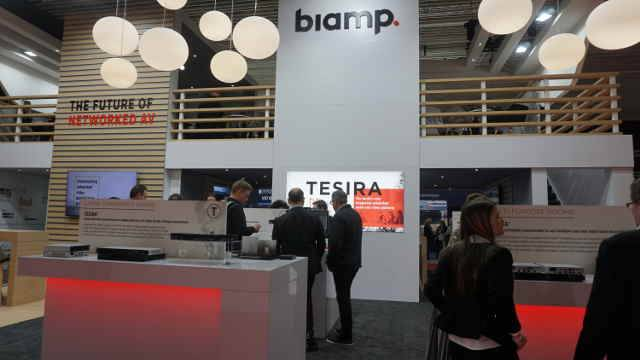 ISE 2018: Biamp Takes Conference Rooms to the Next Level