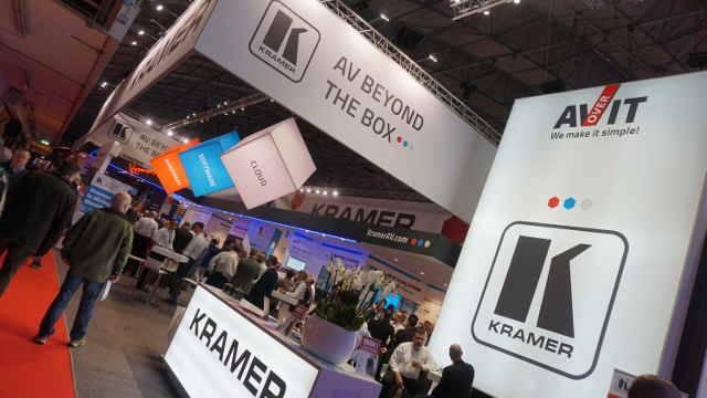 ISE 2018: Kramer Takes AV/IT Experience To The Next Level