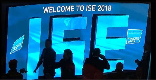 ISE 2018: Show of Strength, Audio-Visually