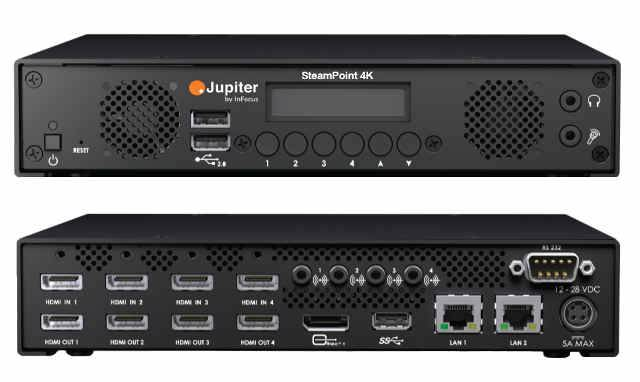 InFocus Releases Jupiter StreamPoint Line Of Streaming Encoders
