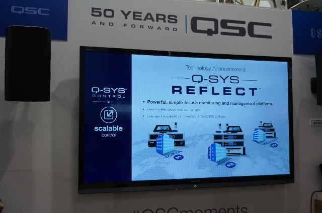 QSC Q-SYS Reflect Addresses IT/AV System Administrators' Needs