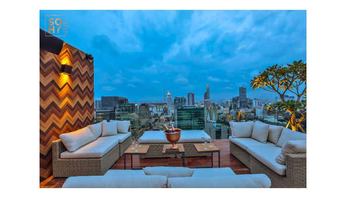 Sky's The Limit for Symetrix Prism at HCMC Rooftop Lounge