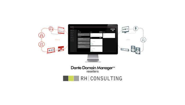 RH Consulting appointed as reseller for Dante Domain Manager