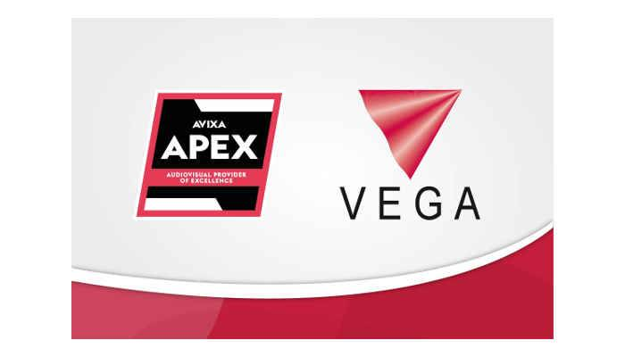 AVIXA recognises Vega Global as Provider of Excellence for Fourth Consecutive Year
