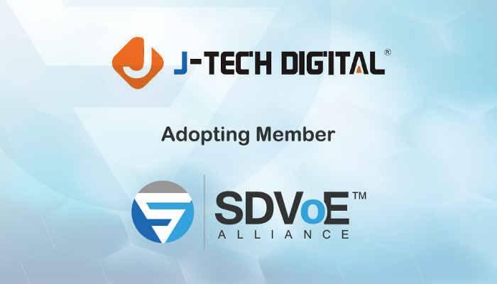 J-Tech Digital Joins SDVoE Alliance