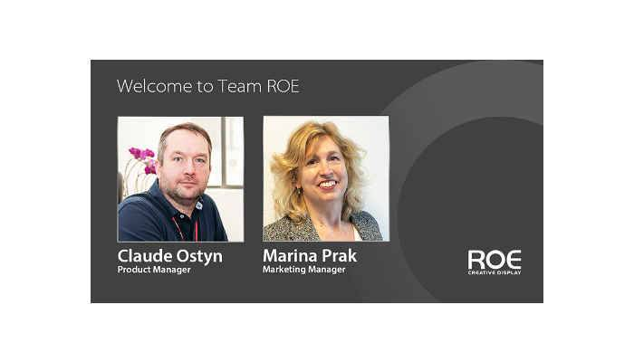 ROE Visual Strengthens Team