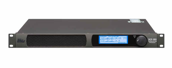 INFOCOMM 2018: HARMAN Professional Solutions Debuts BSS DCP-555 Conferencing Processor