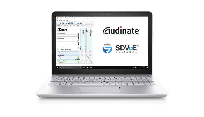 INFOCOMM 2018: SDVoE Alliance & Audinate Collaborate on Integrated Audio and Video Control Platform