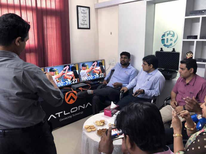 Atlona Holds Two-Day Technical Workshop in India