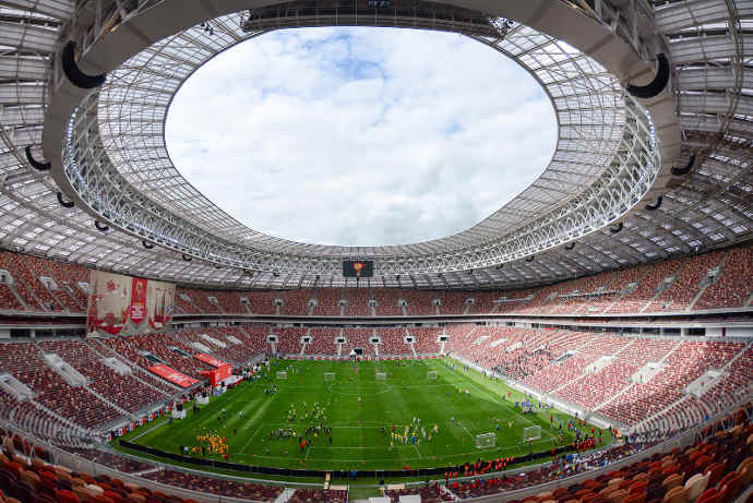 SPECIAL REPORT: Russian Stadia Feature Tripleplay Digital Signage and IPTV Platform to Deliver World Cup Action for Fans
