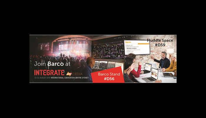 Barco at Integrate