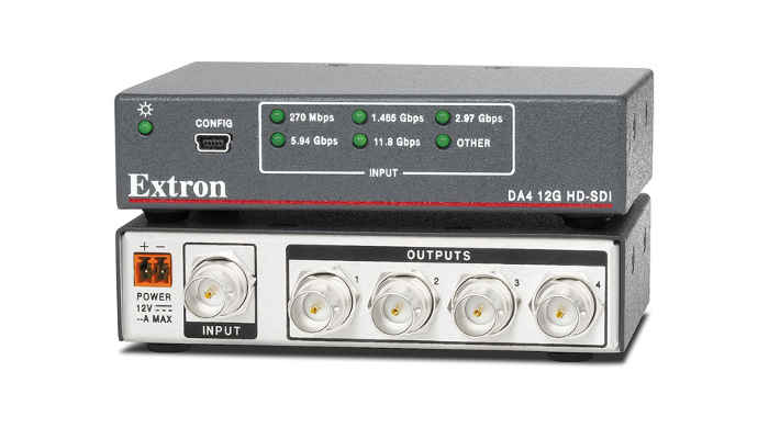 New Extron 12G-SDI Distribution Amplifier