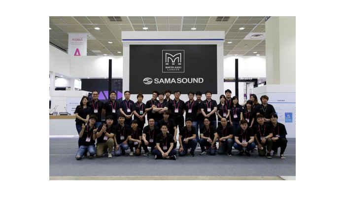 Martin Audio appoints Sama Sound as Korean Distributor