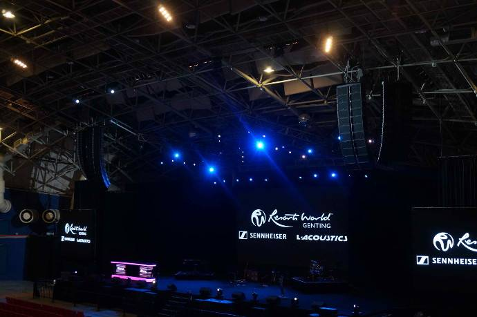 Arena of Stars Upgrades with L-Acoustics K2 System