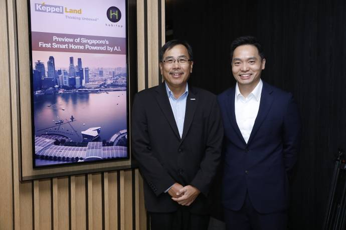 Keppel Land and Habitap Unveil Singapore's First A.I Powered Smart Home Management System