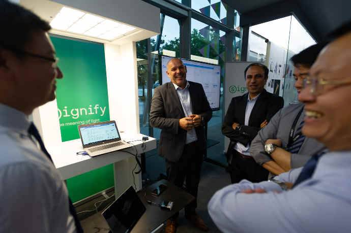 Signify Showcases LiFi in Singapore