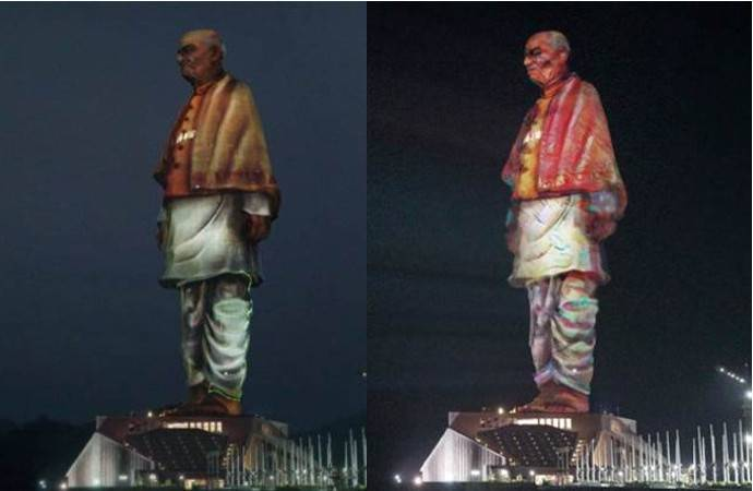 Christie Crimson Series Projectors Light Up the Tallest Statue in the World