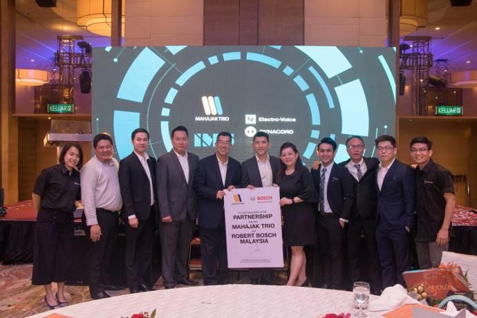 Robert Bosch Sdn Bhd Announces New Partnership with Mahajak Trio Electronic Sdn Bhd