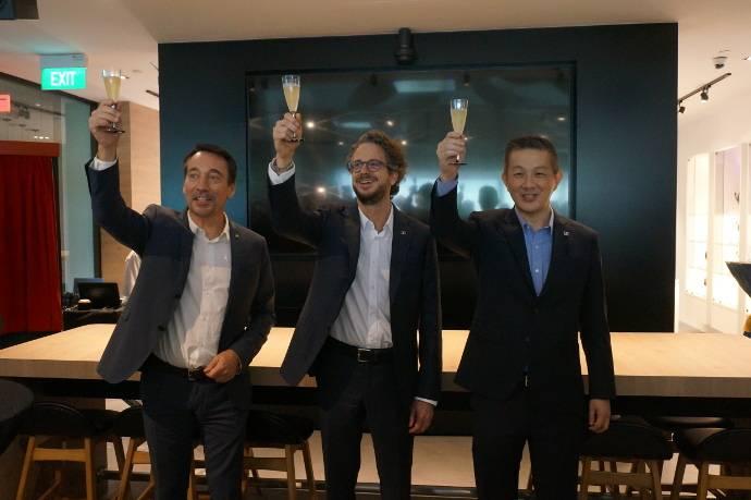 Sennheiser Electronic Asia's New Office Rocks
