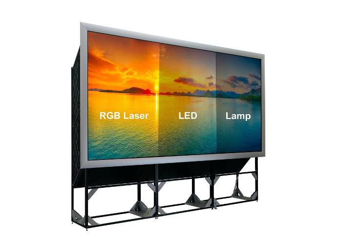 Seamlessly Upgrade to RGB Laser and Boost 24/7 Video Wall Image-Quality with Barco