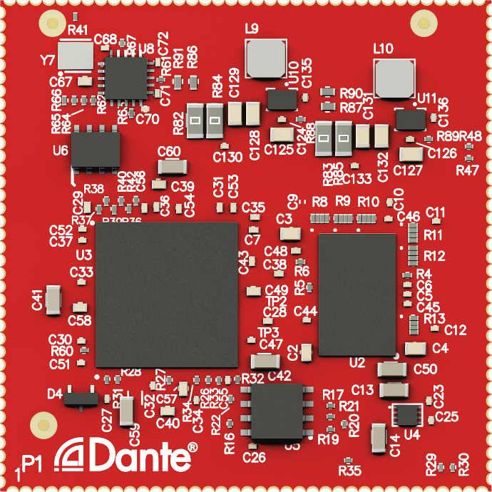 Audinate Adds Video to Dante with the All-New Dante AV Module