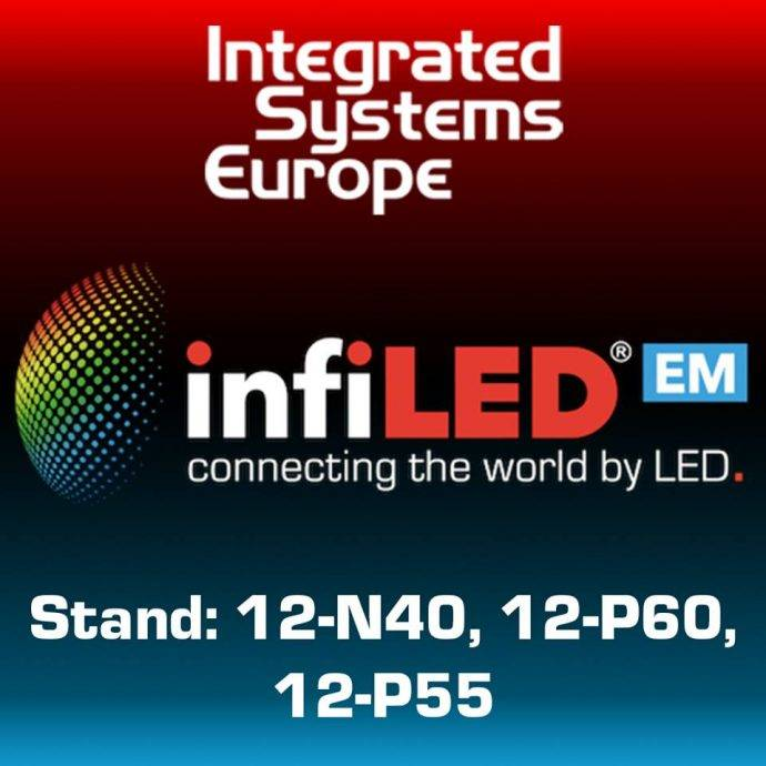 ISE 2019: infiLED Shines Bright with Launch of New DB Series