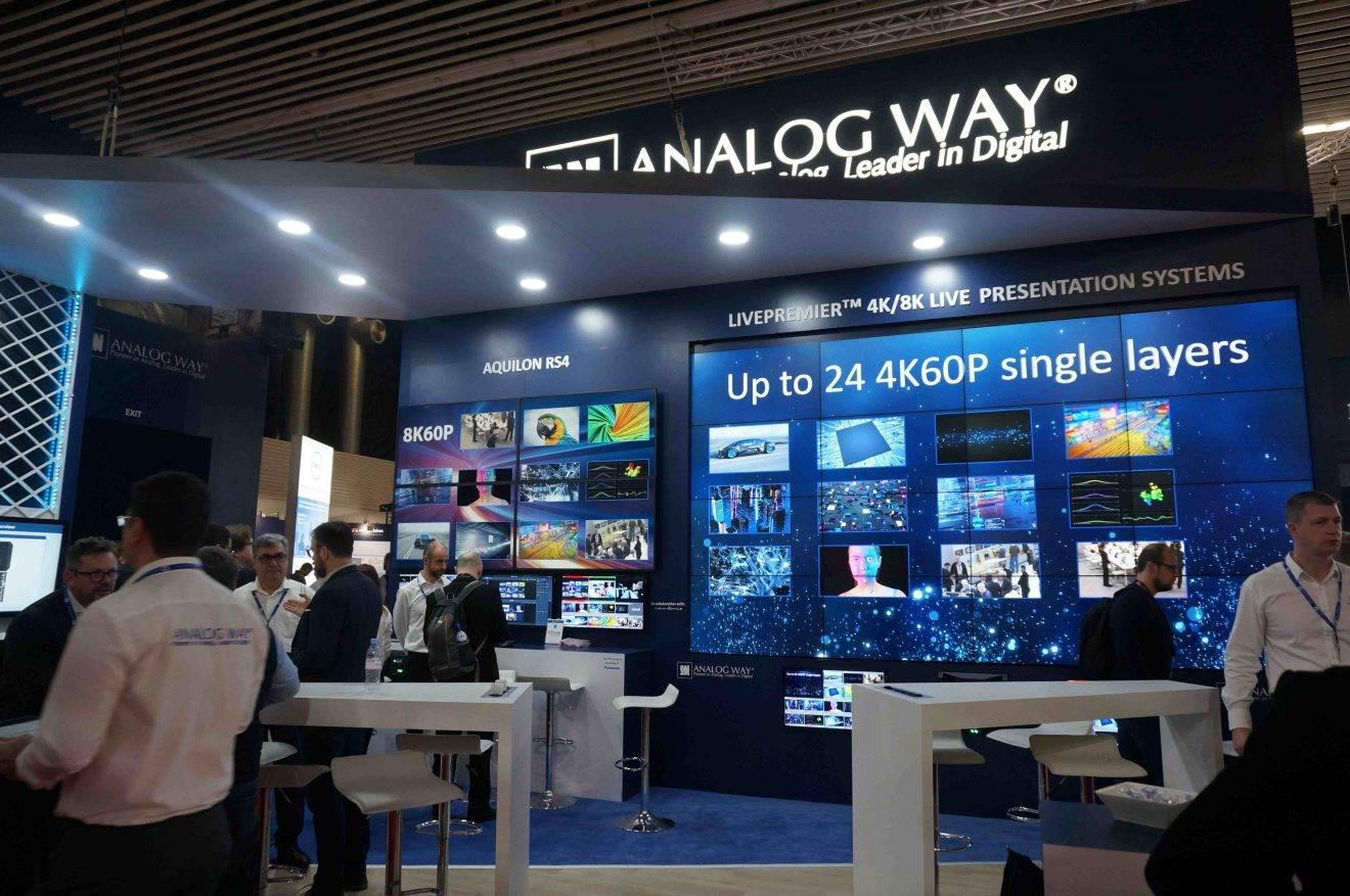 ISE 2019: Analog Way Unveils LivePremier Modular Presentation Systems