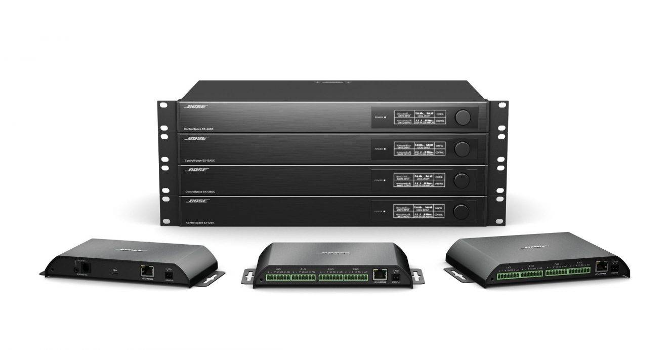 ISE 2019: Bose Professional Expands ControlSpace EX Line with 3 New Processors