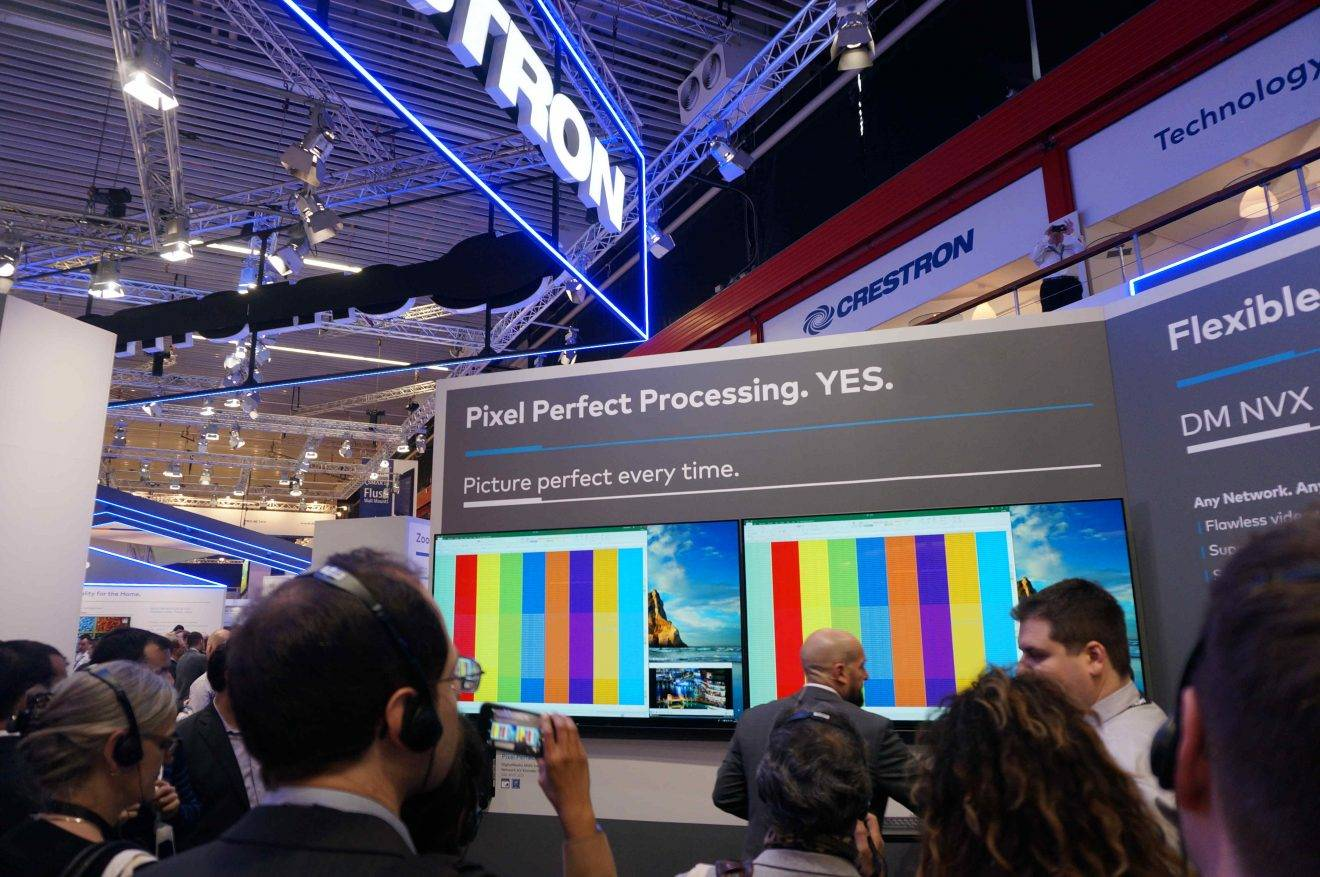 ISE 2019: Crestron Debuts AV Solution with Pixel Perfect Processing Technology