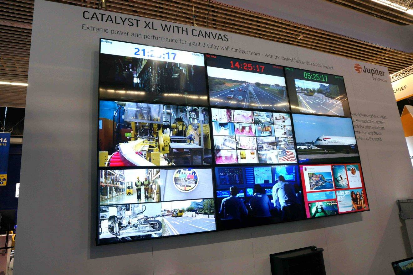 ISE 2019: Jupiter by InFocus Introduces Flagship Catalyst XL Display Wall  Processor