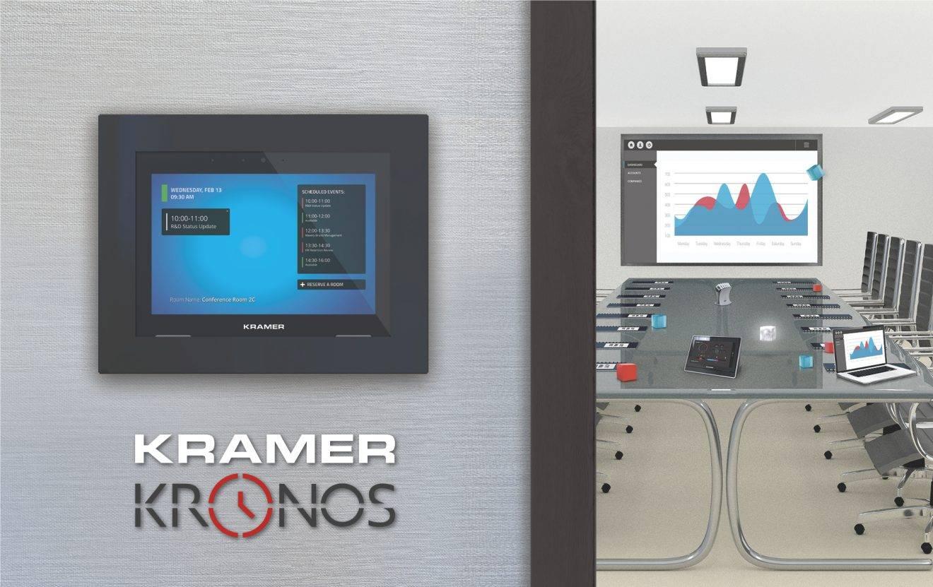 ISE 2019: Kramer Introduces Cloud-Based Room Booking and Scheduling Platform