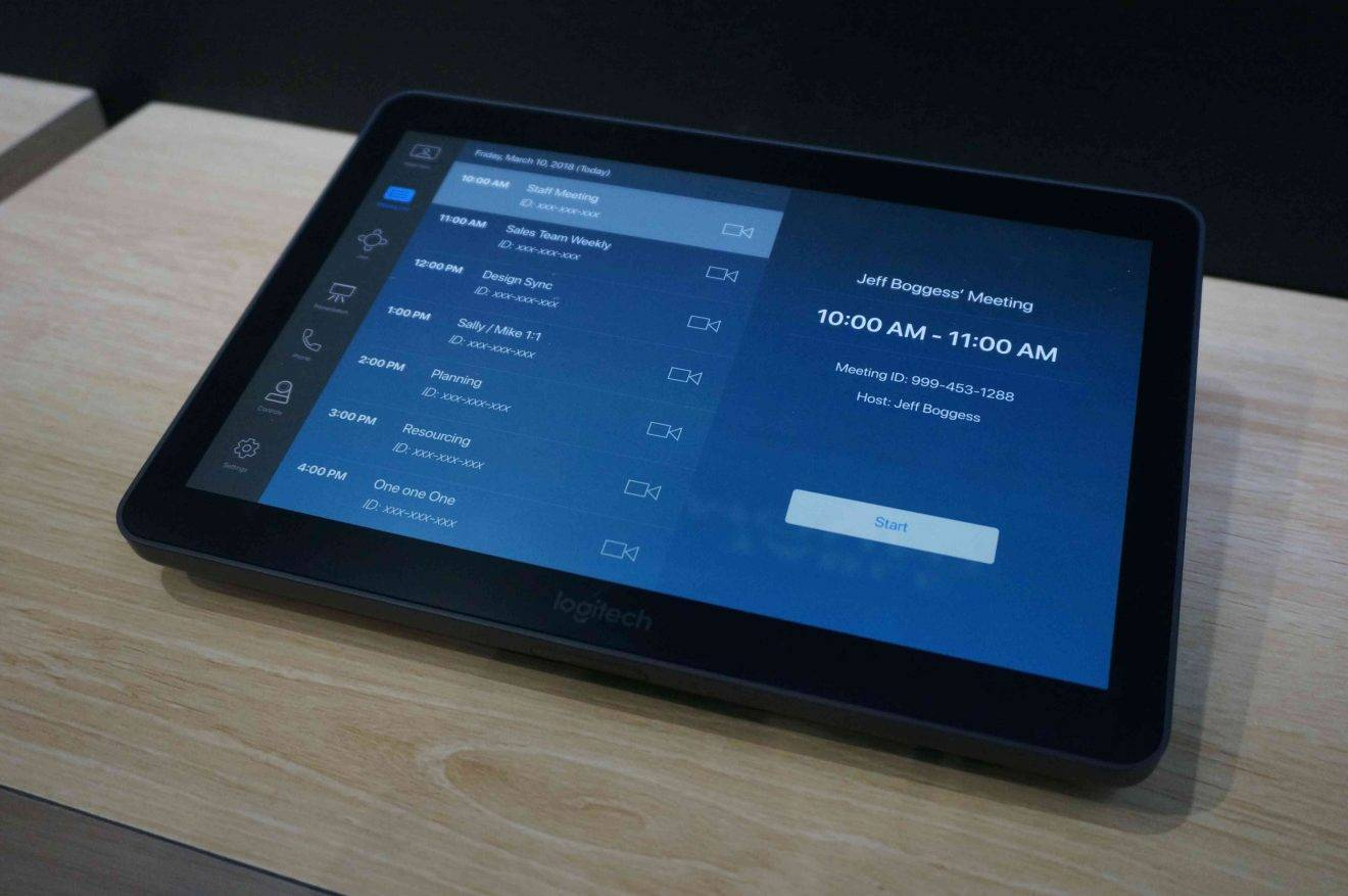 ISE 2019: Logitech Tap Simplifies Deployment and Use of Video Conferencing