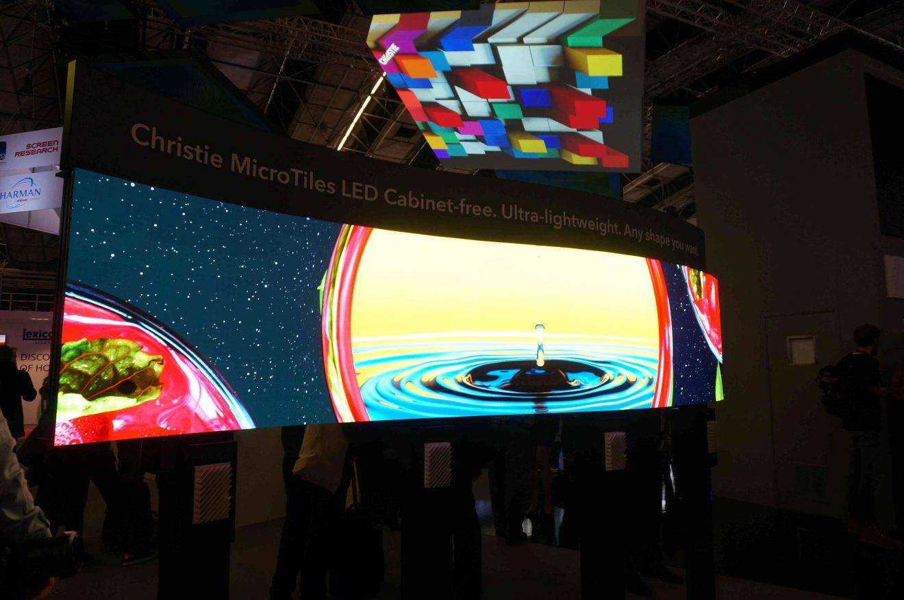 ISE 2019: Head Into the Future with Christie MicroTiles LED