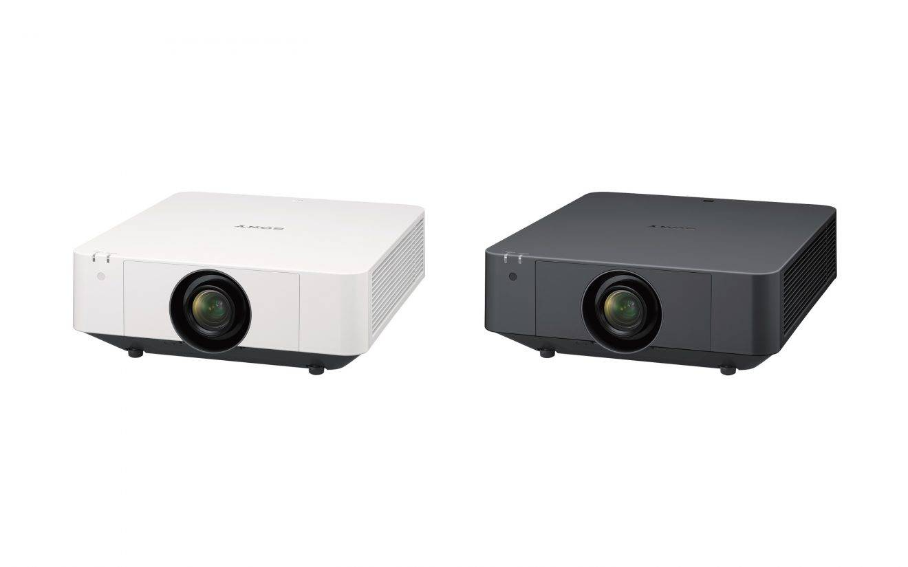 ISE 2019: Sony Introduces 2 New Laser Projectors Using Newly Developed LCD Panels