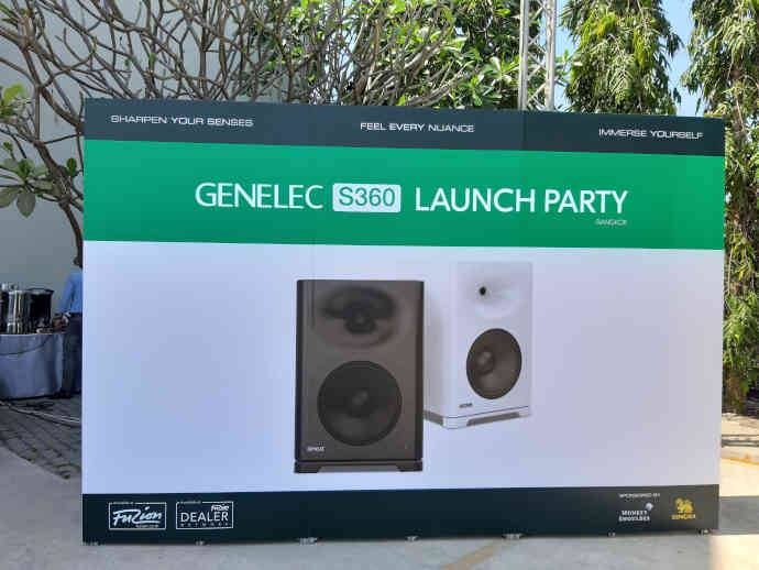 First Showcasing of Genelec S360 in Southeast Asia