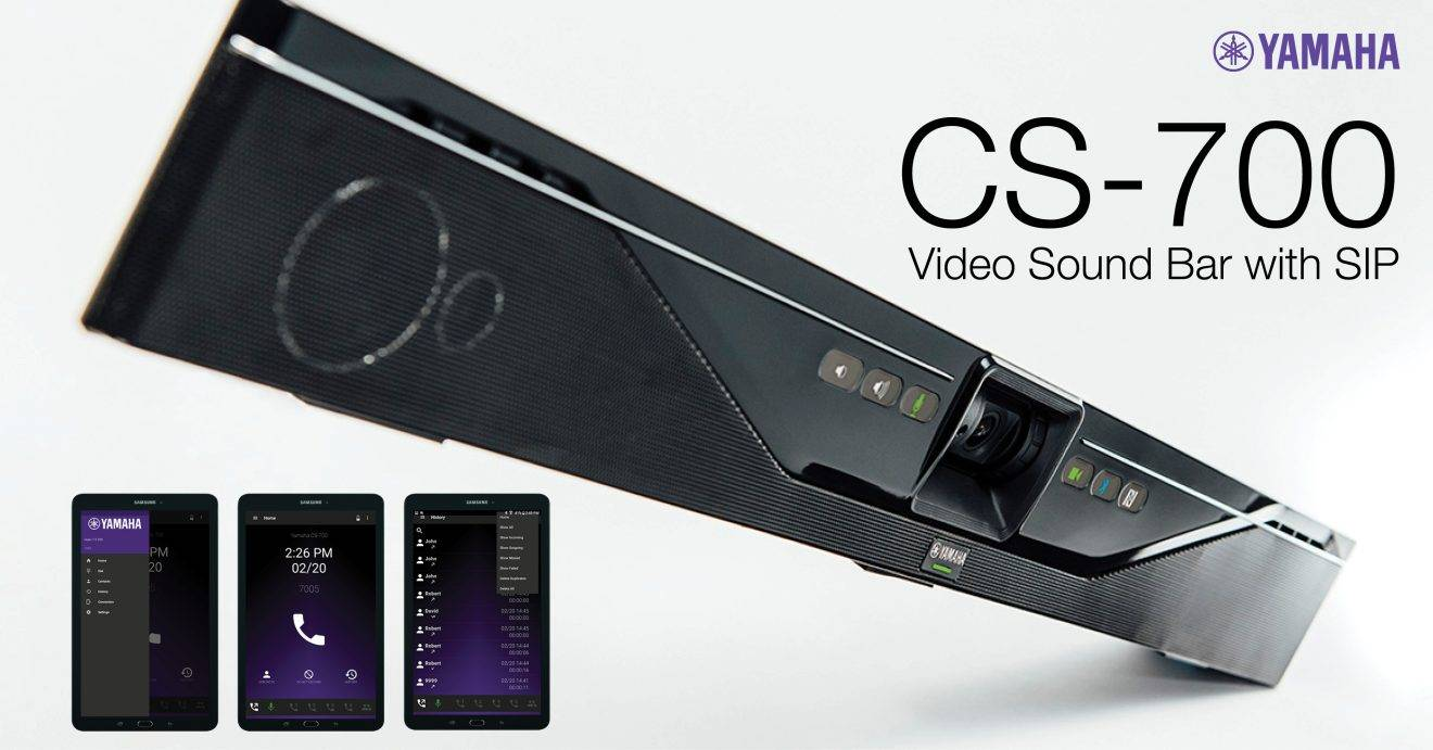 Yamaha CS-700 Video Sound Bar Series Features Best Quality and Benefit for Price