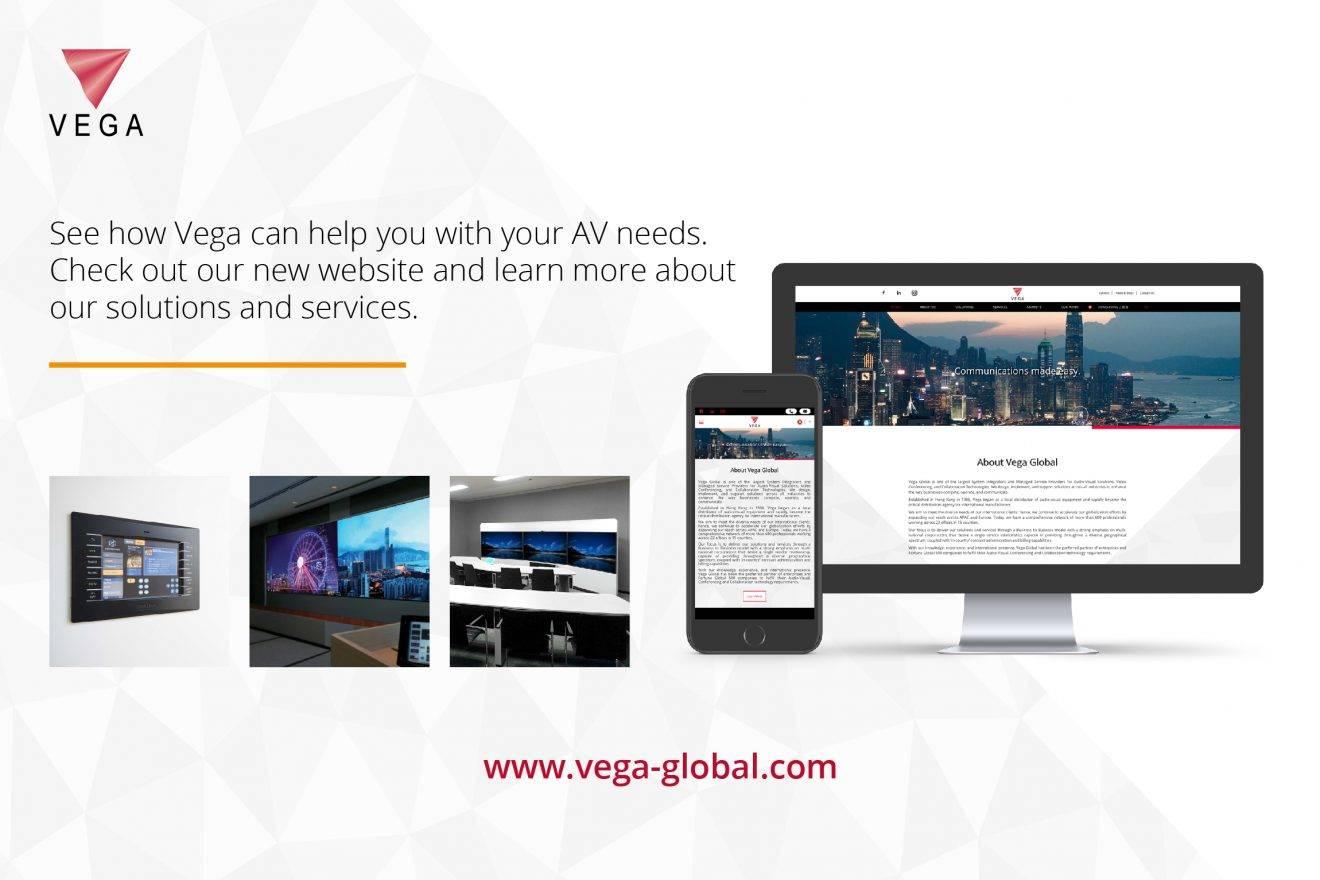 Vega Global Launches New Website