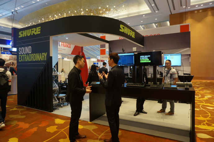 BCA 2019: Shure Engages Visitors with Microflex Complete