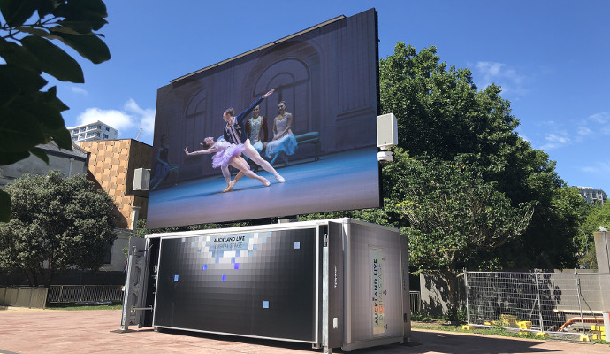 Auckland Live Invests in VuePix Infiled Technology
