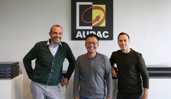 AUDAC Appoints Sales Representative for the APAC Region