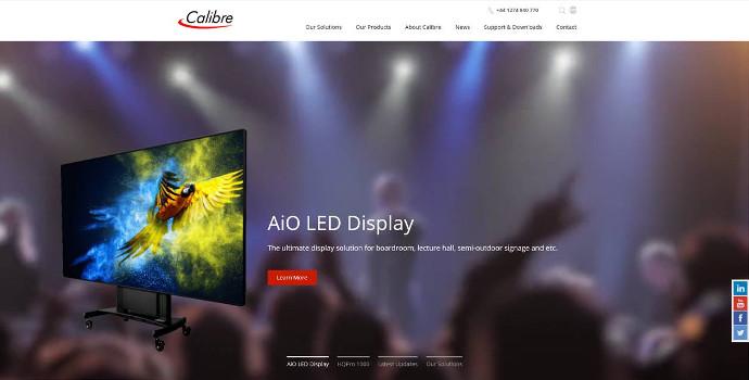 Calibre Reveals New Rebranded Website