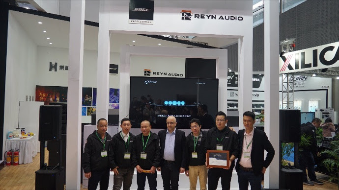 Powersoft and Reyn Audio Join Forces in China