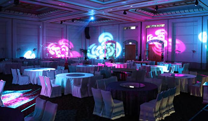 Grand Copthorne Hotel Upgrades to Efficient Martin Professional Lighting