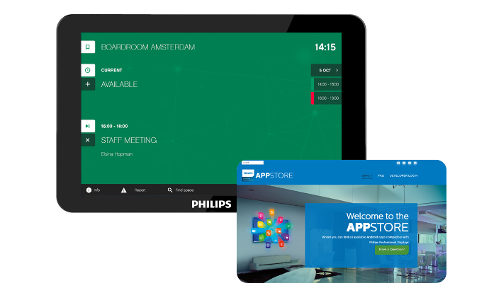 Philips Professional Display Solutions T-Line Display Now Compatible with GoBright Platform