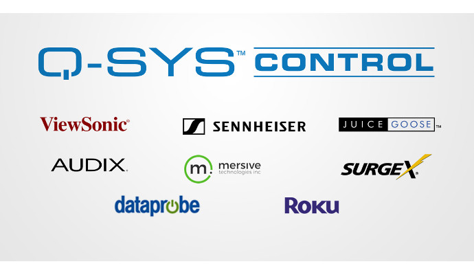 New Meeting Room Endpoint Control Plugins Available for Q-SYS Ecosystem