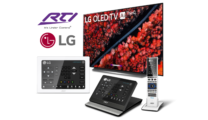 RTI Introduces Driver for IP Control of LG's Latest Smart TVs